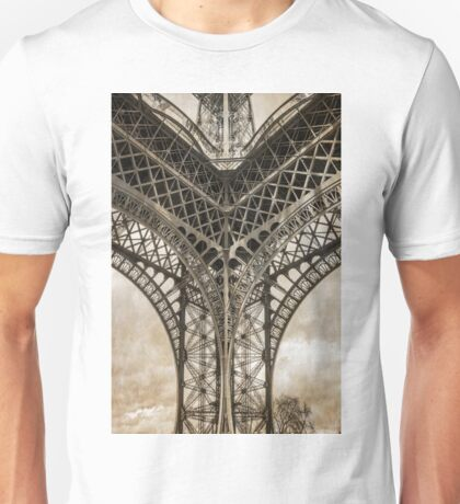 Eiffel Tower From Below Unisex T-Shirt