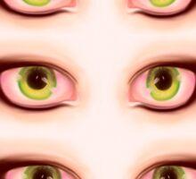 Those Eyes - Windows of the Soul Sticker