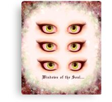 Those Eyes - Windows of the Soul Canvas Print