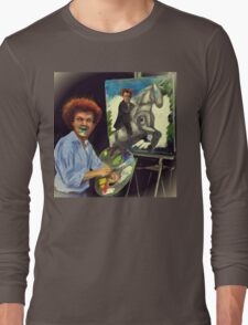 Steve Brule paints Long Sleeve T-Shirt