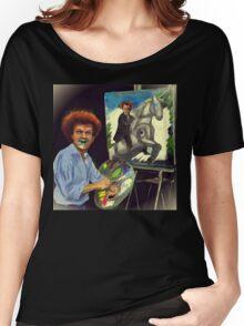 Steve Brule paints Women's Relaxed Fit T-Shirt