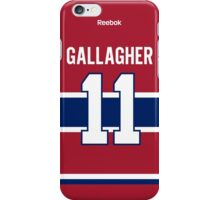 Montreal Canadiens Brendan Gallagher Jersey Back Phone Case iPhone Case/Skin