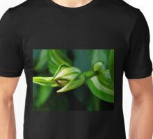Tiny Tiny Bug Perched On The End Of My Hosta Bud Unisex T-Shirt