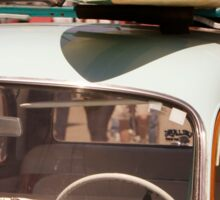 Surfin' USA - Surfboard and Woody Sticker