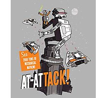 AT-ATTACK! Photographic Print