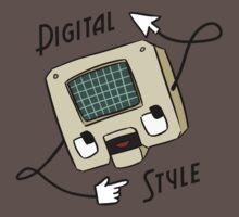 Digital Style One Piece - Short Sleeve
