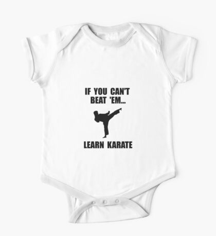 Learn Karate One Piece - Short Sleeve