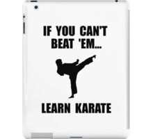 Learn Karate iPad Case/Skin