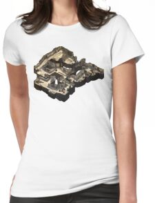 Dust 2 Isometric Map Womens Fitted T-Shirt