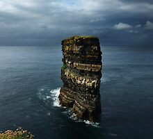 Dun Briste Sea Stack by Adrian McGlynn