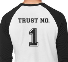 Trust No. 1 Men's Baseball ¾ T-Shirt
