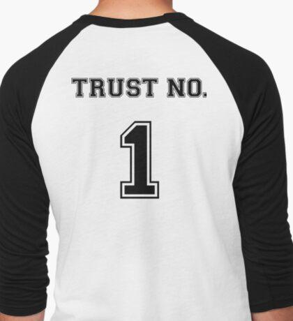 Trust No. 1 Men's Baseball ¾ T-Shirt