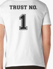 Trust No. 1 Mens V-Neck T-Shirt