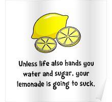 Lemonade Suck Poster
