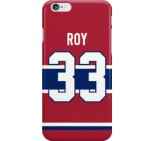 Montreal Canadiens Patrick Roy Jersey Back Phone Case iPhone Case/Skin