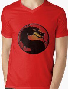 Mortal Kombat Mens V-Neck T-Shirt