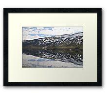 Norwegian Fjord #2 Framed Print