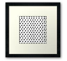 Grungy pattern 1 Framed Print