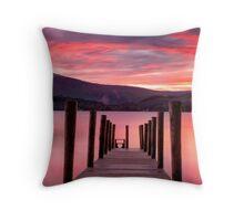 DERWENTWATER SUNSET Throw Pillow