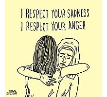 Sadness&Anger Photographic Print