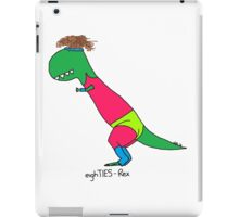 80s Rex - Let's Get Physical iPad Case/Skin