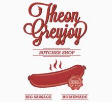Theon GreyJoy Butcher Shop by hypetees