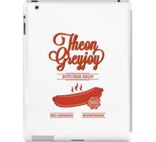 Theon GreyJoy Butcher Shop iPad Case/Skin