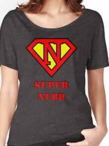 Super Nerd Women's Relaxed Fit T-Shirt