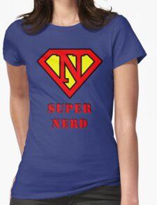 Super Nerd Womens Fitted T-Shirt