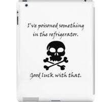 Poisoned Refrigerator Skull iPad Case/Skin