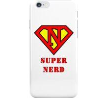Super Nerd iPhone Case/Skin