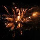 In a Galaxy Far, Far Away (Fireworks and Vapor Trails) by T.J. Martin
