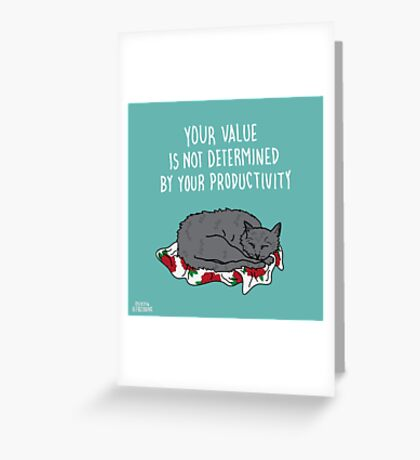 Your Value Greeting Card