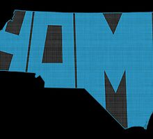 North Carolina Home State by surgedesigns