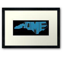 North Carolina Home State Framed Print