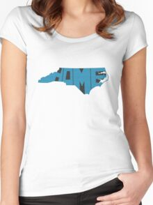 North Carolina Home State Women's Fitted Scoop T-Shirt