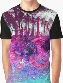 Nature falls into colour Graphic T-Shirt