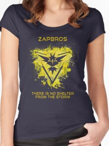 Zapbros Women's Fitted Scoop T-Shirt