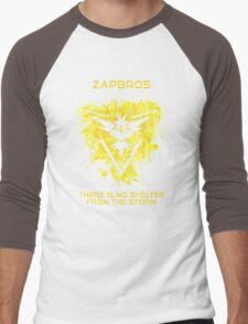 Zapbros Men's Baseball ¾ T-Shirt