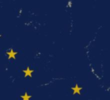 Alaska State Flag VINTAGE Sticker