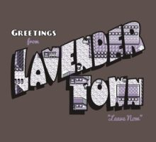 Greetings from Lavender Town One Piece - Short Sleeve