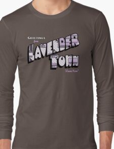 Greetings from Lavender Town Long Sleeve T-Shirt