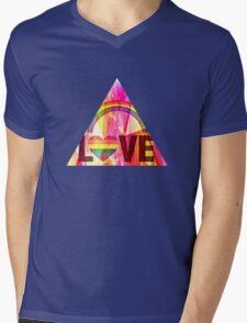 L O V E  Mens V-Neck T-Shirt