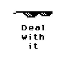 Deal With It by JohnnyTk64
