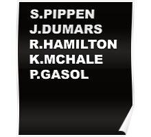 NBA Sidekicks  Poster
