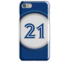 21 - Captain Canada iPhone Case/Skin