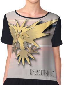 Pokemon GO: Team Instinct  Chiffon Top