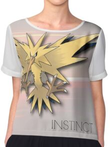 Pokemon GO: Team Instinct  Chiffon Top