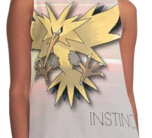 Pokemon GO: Team Instinct  Contrast Tank