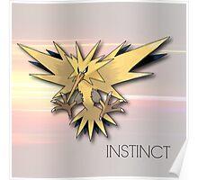 Pokemon GO: Team Instinct  Poster